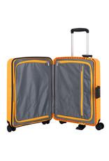 Travelite Terminal Spinner 55 cm handbagagekoffer - Yellow - harde koffer zonder rits
