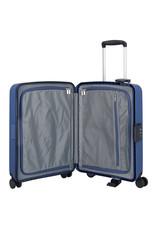 Travelite Terminal Spinner 55 cm handbagagekoffer - Navy - harde koffer zonder rits