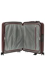 Travelite Terminal Spinner 67 cm middenmaat koffer - Dark Berry - harde koffer zonder rits