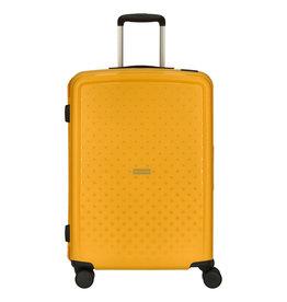 Travelite Terminal Spinner 67 cm middenmaat koffer - Yellow