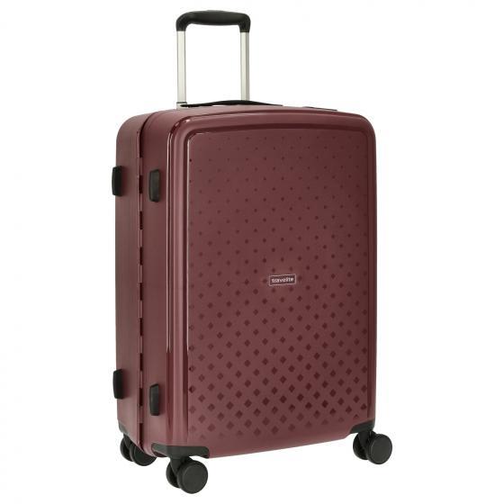 Travelite Terminal Spinner 67 cm middenmaat koffer - Navy - harde koffer zonder rits