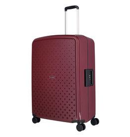 Travelite Terminal Spinner 76 cm grote maat koffer - Dark Berry