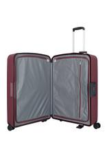 Travelite Terminal Spinner 76 cm grote maat koffer - Dark Berry - harde koffer zonder rits