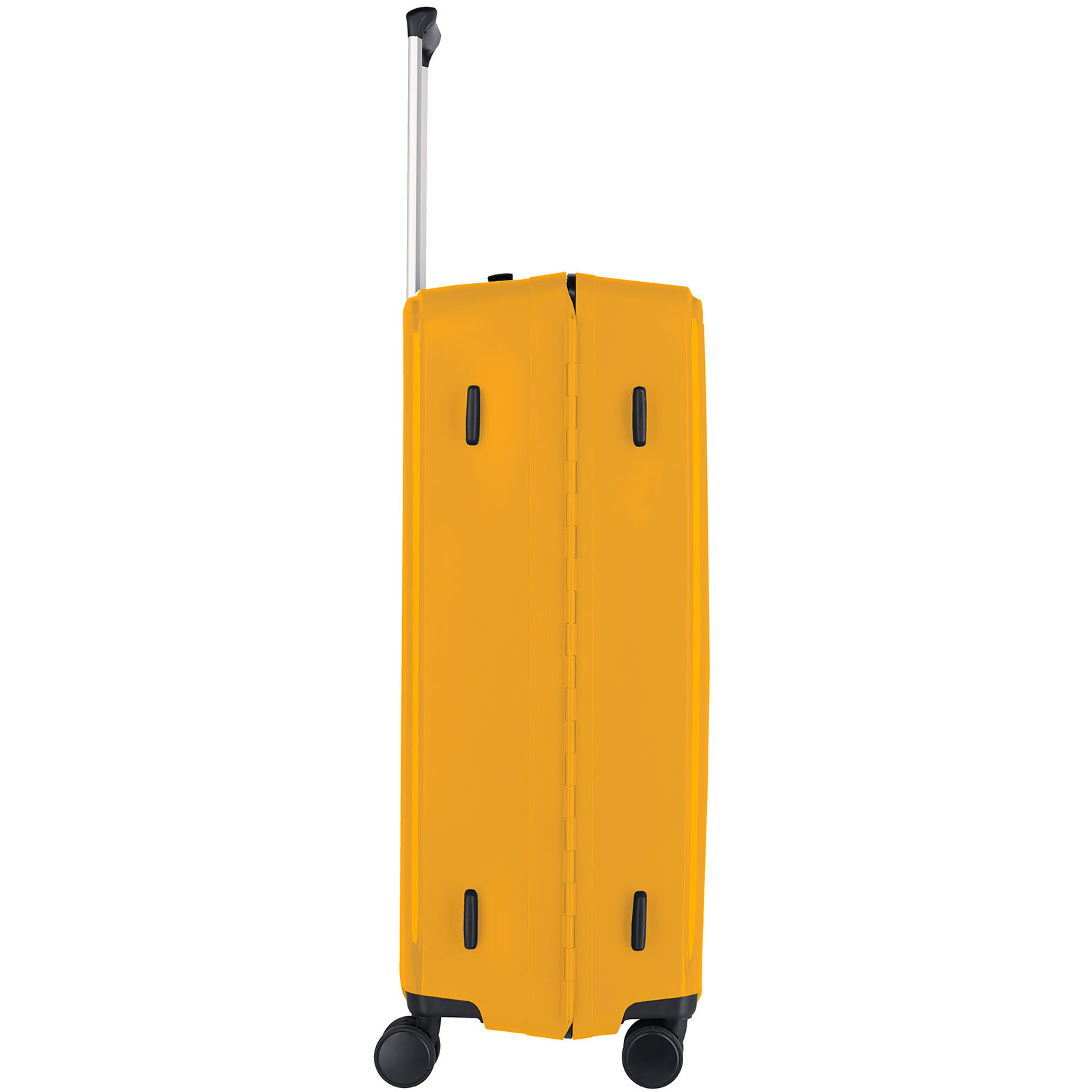 Travelite Terminal Spinner 76 cm grote maat koffer - Yellow - harde koffer zonder rits