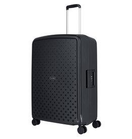 Travelite Terminal Spinner 76 cm grote maat koffer - Black