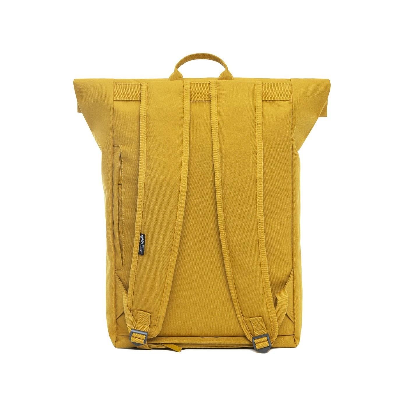 Lefrik Lefrik Roll Top backpack - Eco Friendly - Recycled Materiaal - Mustard