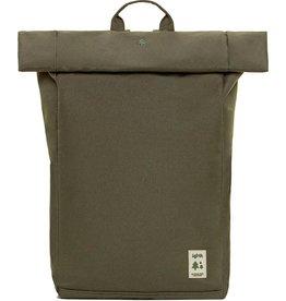 Lefrik Lefrik Roll Top backpack- Eco Friendly - Recycled Materiaal - Olive