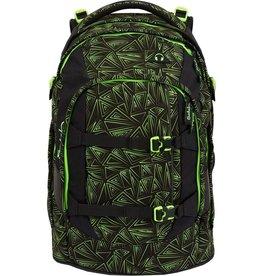 Satch Satch Pack School Rugzak - Green Bermuda