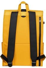 "Bold Banana Bold Banana Roll Top Rugzak met 15.6"" laptopvak - Yellow Beetle"
