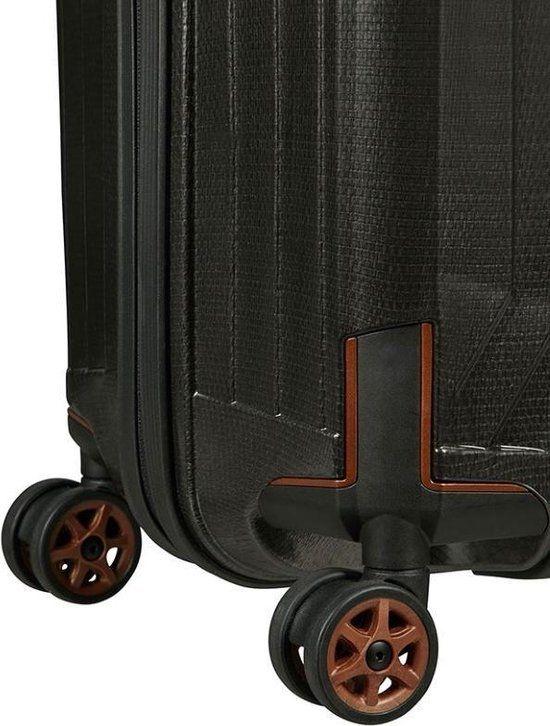 Samsonite Samsonite Lite-Box Spinner 75 Black Copper - lichtgewicht grote reiskoffer