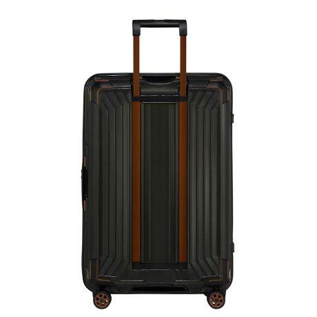Samsonite Samsonite Lite-Box Spinner 69 Black Copper - lichtgewicht middenmaat reiskoffer
