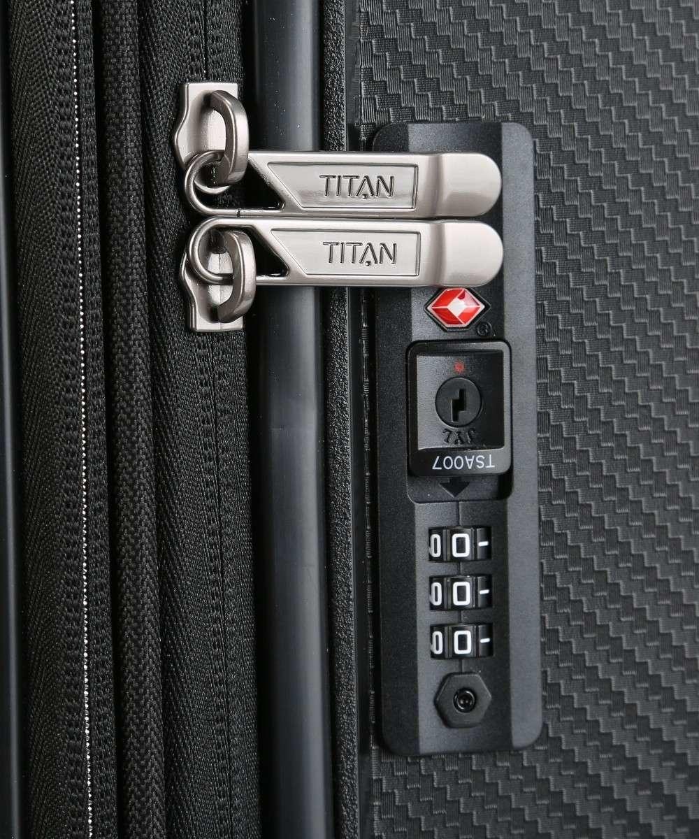 Titan Titan Compax 4 Wiel middenmaat Trolley M Expandable - Black