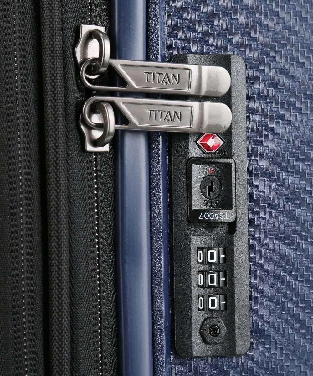 Titan Titan Compax 4 Wiel middenmaat Trolley M Expandable -