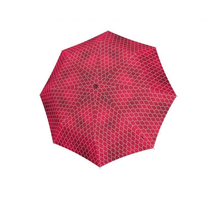 Knirps Knirps T-200 Medium Duomatic Windproof Paraplu - Regenerate Red
