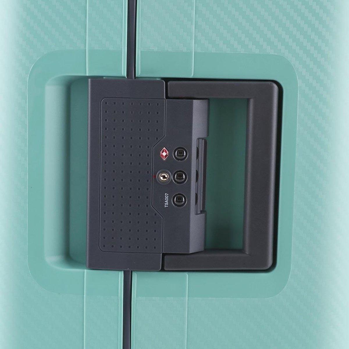 Line Line Hoxton -  reiskoffer - 75 cm - Mint Green