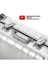 CarryOn ULD Handbagage - Luxe Aluminium Trolley 55cm