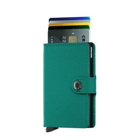 Secrid Secrid Mini Wallet Crisple Emerald pasjeshouder