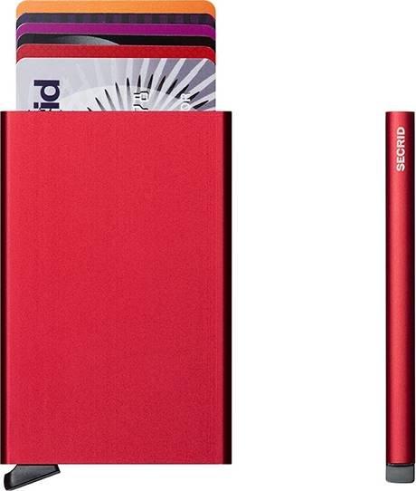 Secrid Secrid cardprotector rood uitschuifbare pasjes bescherming