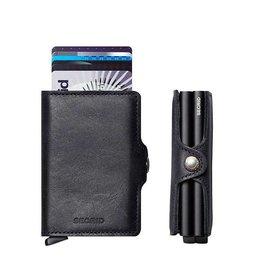 Secrid Secrid Twin Wallet Vintage Black dubbele pasjeshouder