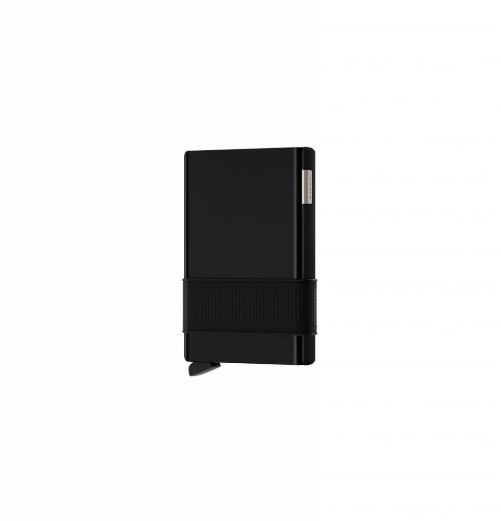 Secrid Secrid Cardslide Black / Black uitschuifbare pasjes bescherming portemonnee nieuwe versie