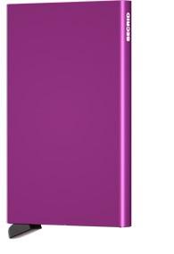 Secrid Secrid cardprotector Violet uitschuifbare pasjes bescherming pasjeshouder