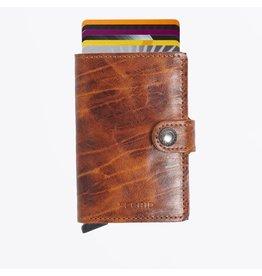 Secrid Secrid Mini Wallet Dutch Martin Whiskey pasjeshouder