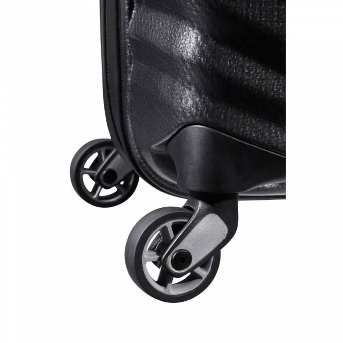Samsonite Samsonite Lite-Shock Spinner 75 Black Curv lichtgewicht reiskoffer