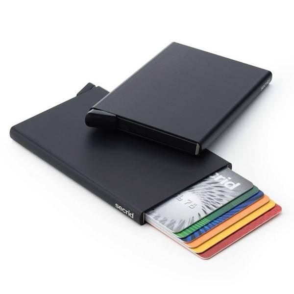 604ca709fe4 Secrid Cardprotector Black uitschuifbare pasjes bescherming pasjeshouder  zwart
