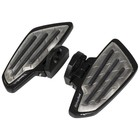 Highway Hawk Marche Pieds New Tech Black Metal Passenger - 732-702M