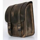 Highway Hawk Swingarm Bag Straight Smart Softail Brown - LZAD2-2015