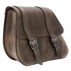 Highway Hawk Single Sided Bag H-D Dyna Brown - LZAD2-1088
