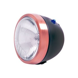 Highway Hawk Spotlight E-mark Black/Copper trim - 68-130BU