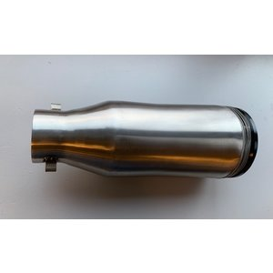 Highway Hawk Silencer Stainless Steel 51MM w/adjustable sound (1Pc.) C65-222