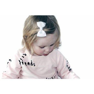 Your Little Miss Haarspeld witte strik