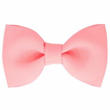 Your Little Miss Haarspeldje roze met strik