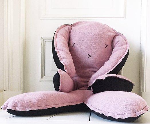 Dit XXL knuffel konijn is een echte Musthave voor jouw kleintje!