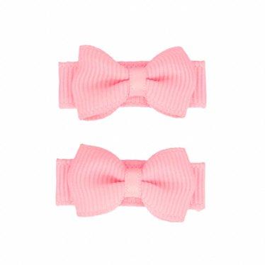 Your Little Miss Baby haarspeldjes met strik roze