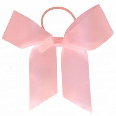 Your Little Miss Haarstrik  met elastiek roze satijn