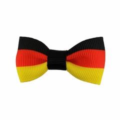 Your Little Miss Baby haarspeldje met strikje - German flag