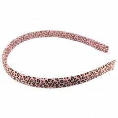 Your Little Miss Leopard diadeem roze