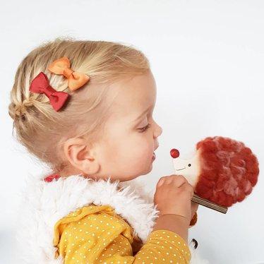 Your Little Miss Baby haarspeldje ginger