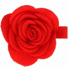 Your Little Miss Rode haarspeld met vilten bloem