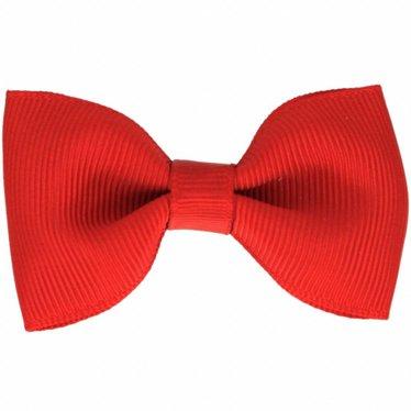 Your Little Miss Haarspeldje met strik red