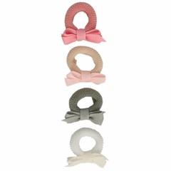 Your Little Miss Setje van 4 kleine elastiekjes pastel