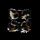 Your Little Miss Baby haarspeldjes black leopard