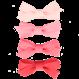 Your Little Miss Setje roze haarspeldjes met strik lollipop