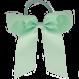 Your Little Miss Haarstrik  met elastiek pastel green
