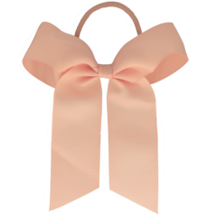 Your Little Miss Haarstrik met elastiek light peach