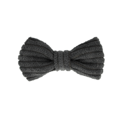 Your Little Miss Baby haarspeldje charcoal rib