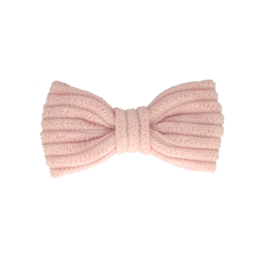 Your Little Miss Baby haarspeldje soft pink rib